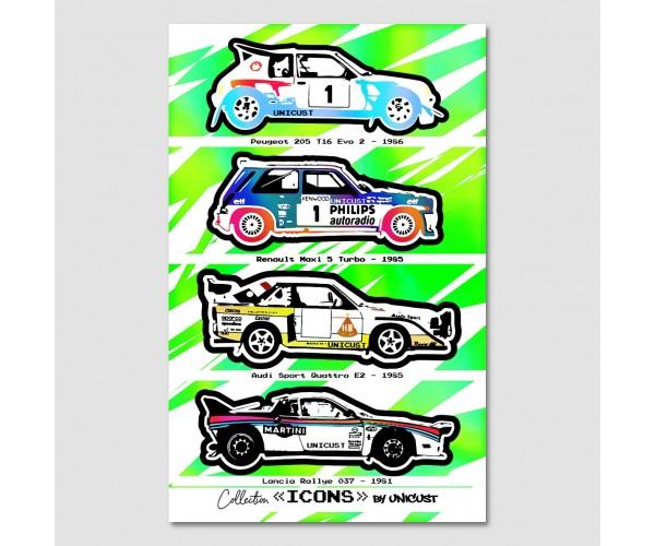 Icons - Rallye
