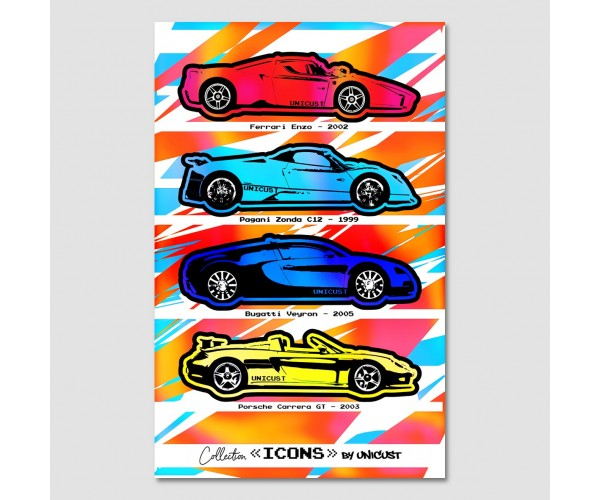 Icons - Supercars